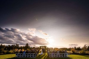 Pronghorn Island Wedding